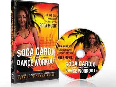Soca Cardio Dance Workout - DVD cover