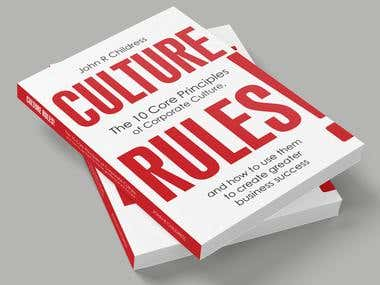 Culture Rules! - book cover, typesetting and ebook