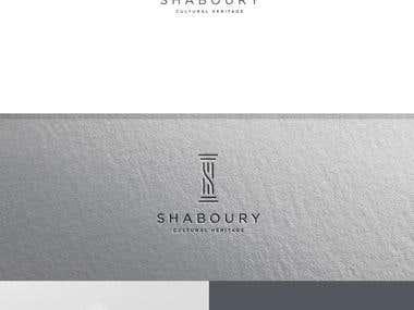 shaboury logo design