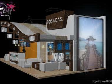 Stand publicitario Posadas / Trade show booth Posadas