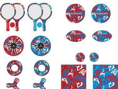 Sport's Pattern Design