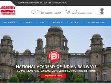The National Academy of Indian Railways