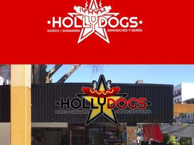 LOGO HOLLYDOGS