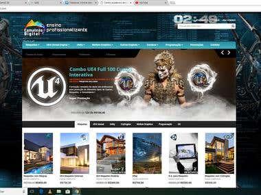 Web Site at School of Developer Games
