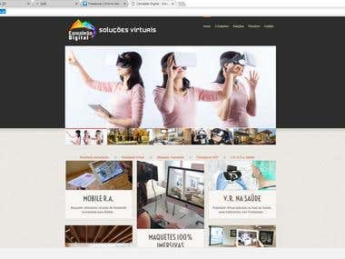Web Site Company of Virtual Reality