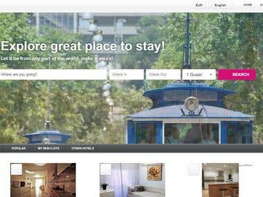 Yourplace4rent Magent online booking