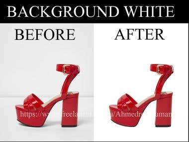 Background white