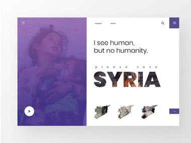 Non-profit organization website design