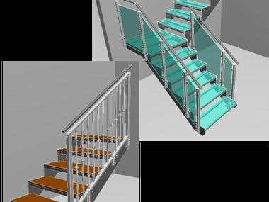 Staircases in JavaScript