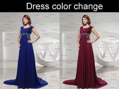 Dres color change