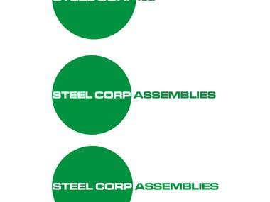 Logo Design For Steel Corp Assemblies