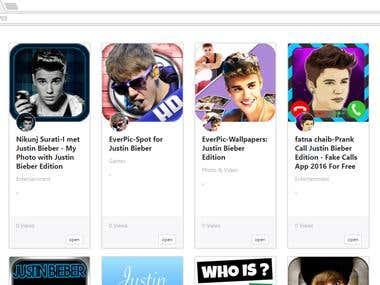 iTunes API Search