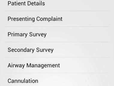 Android App for form filling to PDF