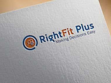 RIGHTFIT PLUS logo
