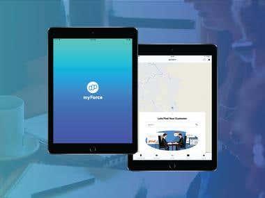 Mobile & Web Application - MyForce