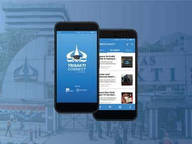 Mobile Application - Trisakti Connect