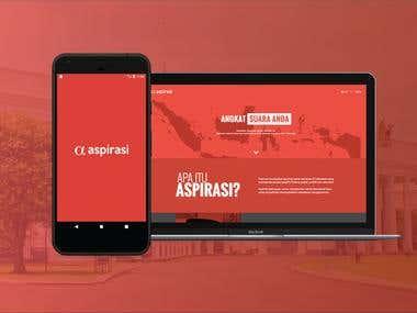 Mobile and Web Apps - Aspirasi