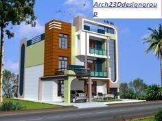 DUPLEX HOME 3D DESIGNING