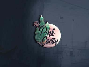 Pink Cactus Logo