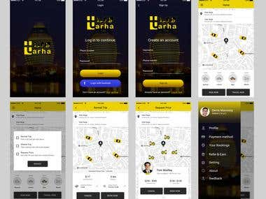 Taxi Booking app with ride sharing
