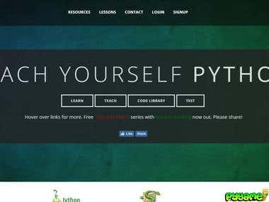 Paython Test based site