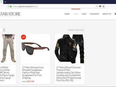 My online super-star-store