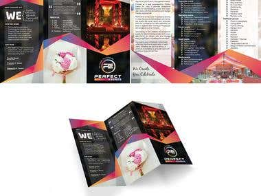 Perfect Events (Brochure Design)