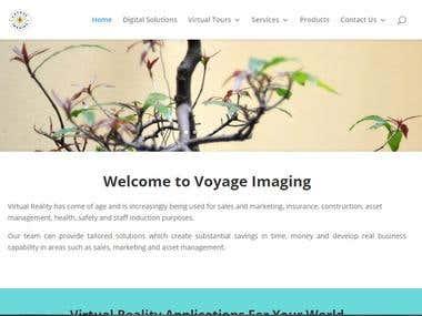 WordPress Website, Design and Back end setup