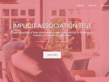 IAT test website