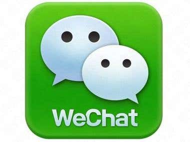Setup WeChat Account ( release and update News)