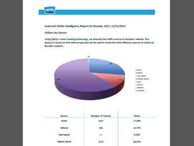 Excel reports & design
