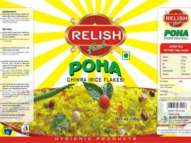 Poha Packing Design
