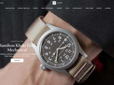 Shopify Shopping Site