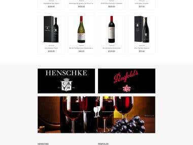 Shopify Wines Store