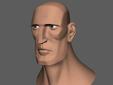 Animation character topology