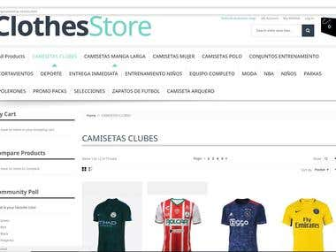 Magento 1.9 Cloth Store Theme Installation and 4 Plugin