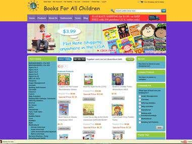 Complete Children Book Shop Setup and Customization