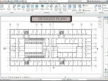 Projects on Revit