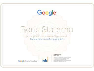GOOGLE CERTIFIED - DIGITAL MARKETING