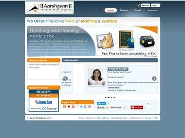 Aarshgyan - Java Servlet / Struts Application