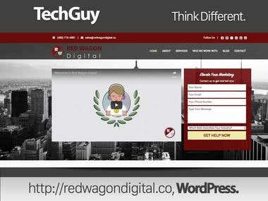 www.redwagondigital.co - WordPress Site Customized