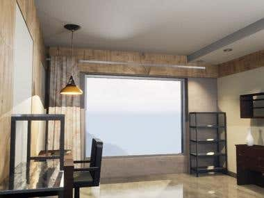 3d rendering office 01