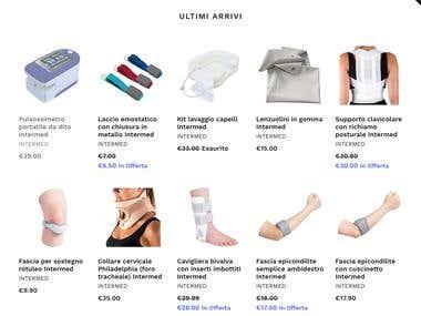 eCommerce based on Shopify for Italian market