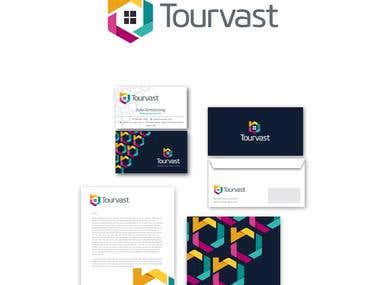 Logo and Branding for Tourvast