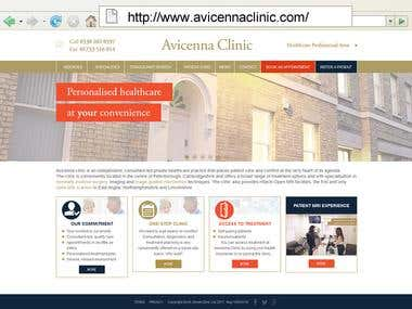 http://www.avicennaclinic.com/ - Wordpress