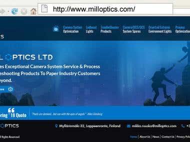 http://www.milloptics.com/ - Wordpress