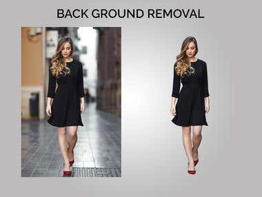 Background Removal from the images
