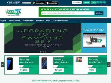 CorePHP Advertising Website