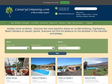 Travel and Restaurant Website