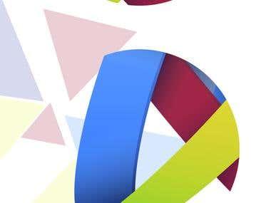 Dennis Matthias logo design.